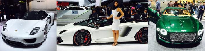 Neue Autos im Autosalon Genf