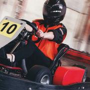 kartfahren indoor