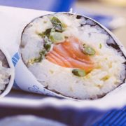 When Sushi met Sancho Sushi Burritos