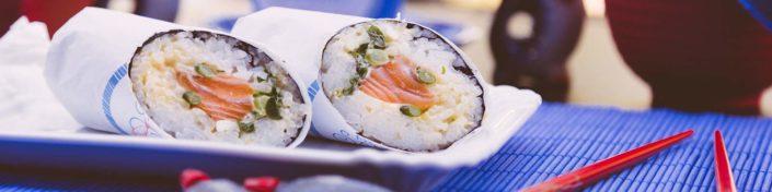 When Sushi met Sancho Sushi Burritos
