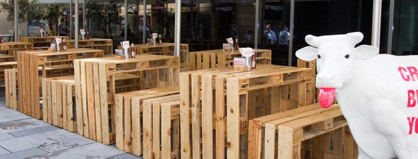 rinderwahn Burger-Restaurant neueröffnung