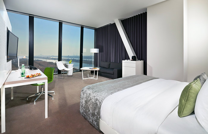 Junior-Suite im Melia Vienna