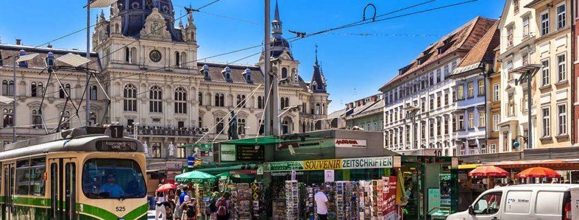 Unbekannte Orte in Graz